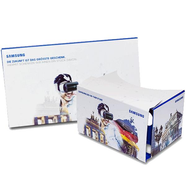 Google Cardboard für Samsung Gear Promotion