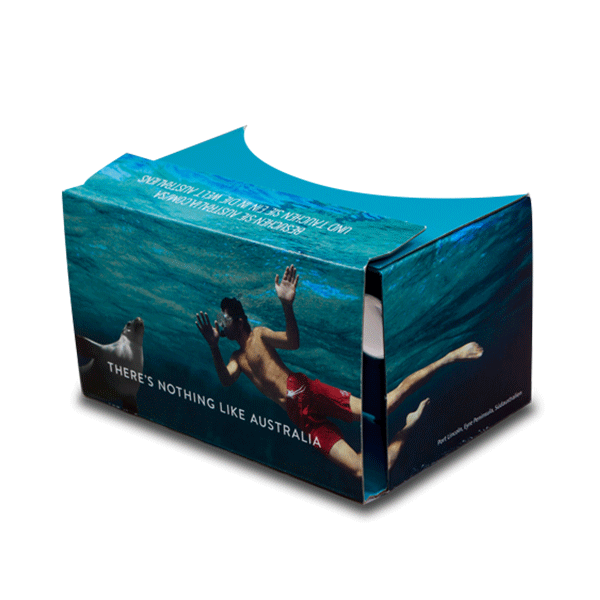 Google Cardboard insert for travel & science magazine – Geo Saison & Zeit Wissen