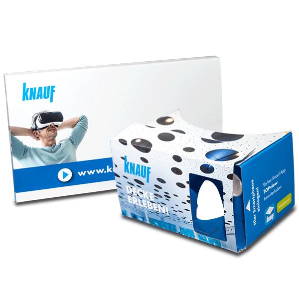 Google Cardboard Konfigurator für Akkustiv und Decken – Knauf TopView